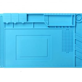 Heat Insulated Silicone Desk Mat - Front side
