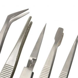 Precision Tweezers - 5 Piece Set